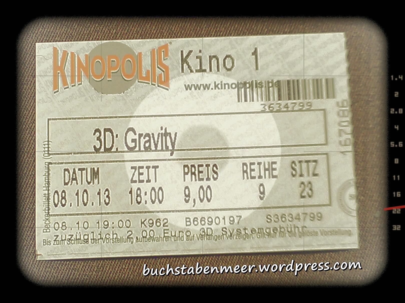 Gravity Filmkritik
